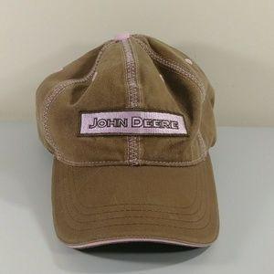 John Deere Women's Embroidered Logo Patch Hat